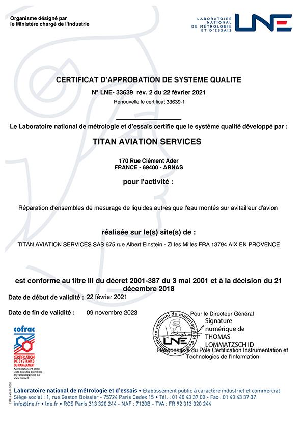 TAS_Certificat_LNE- 33639_Réparation_EMLAE