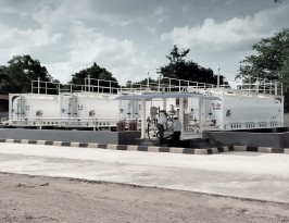 Aviation fuel farm