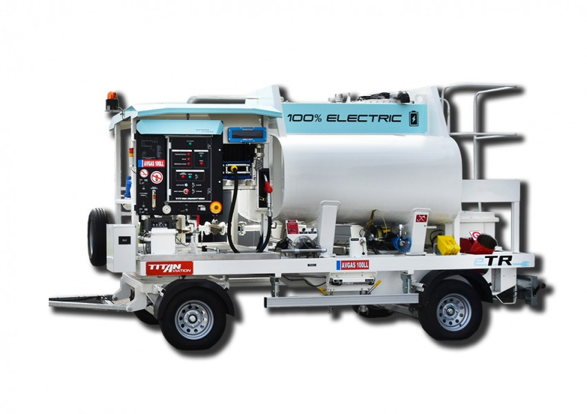 electric refuelling trailer