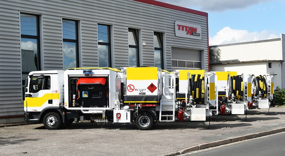 dispenser de hidrante TITAN 150m3/h