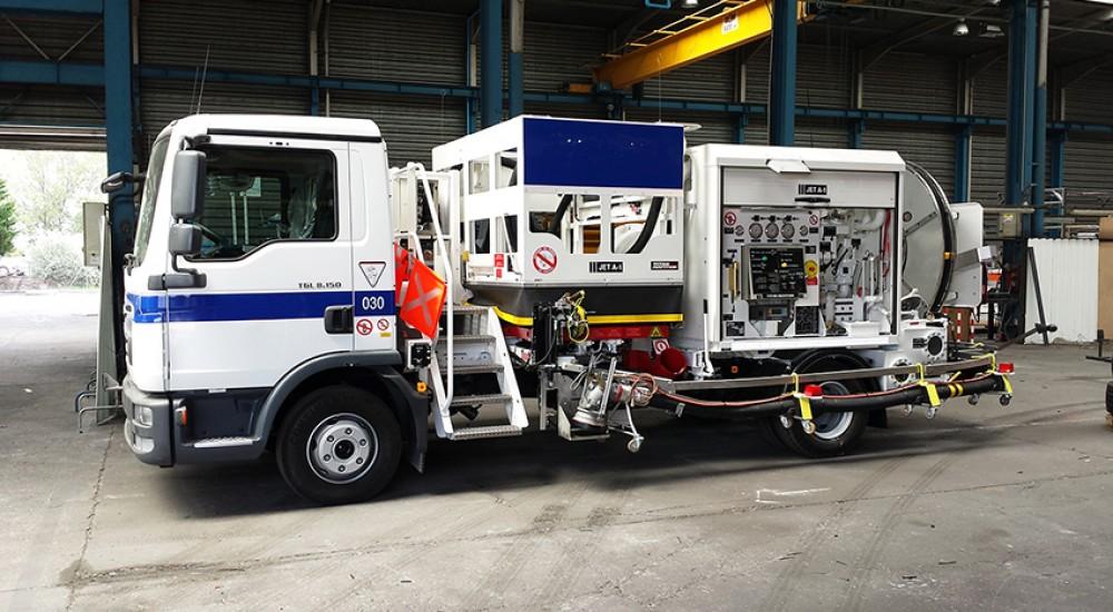 dispenser de hidrante 230m3/h TITAN AVIATION