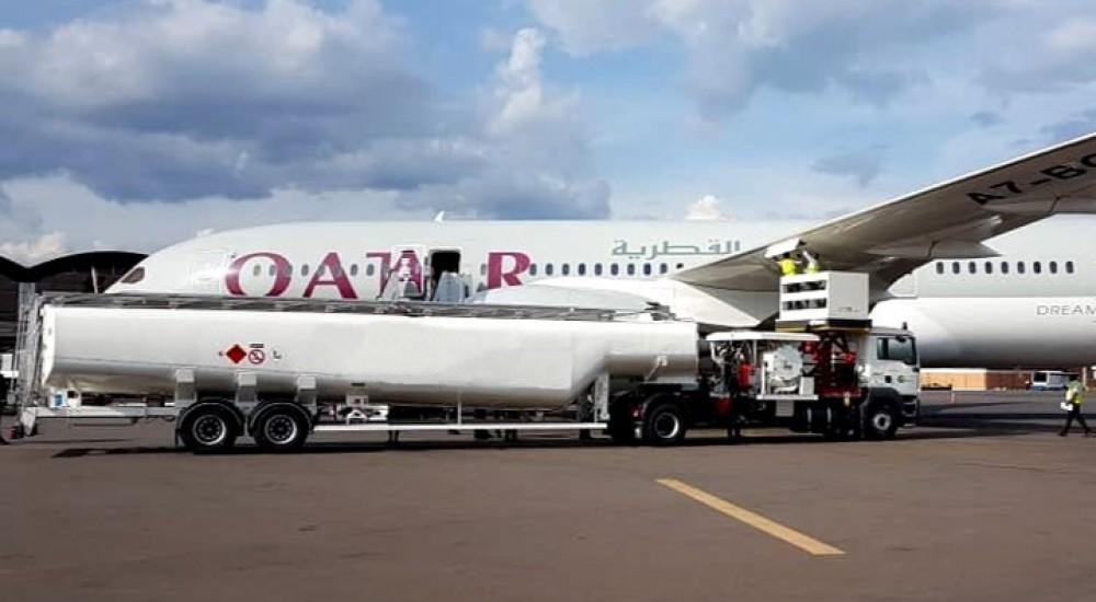 semi trailer aircraft refueller 65000L